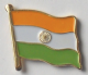 India Country Flag Enamel Pin Badge